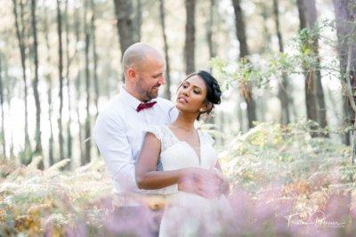 Mariage Meena et David